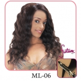 NEW BORN FREE Synthetic Magic Lace front Wig: ML06