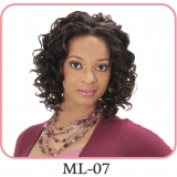 NEW BORN FREE Synthetic Magic Lace front Wig: ML07