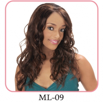 NEW BORN FREE Synthetic Magic Lace front Wig: ML09