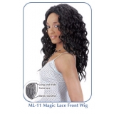 NEW BORN FREE Synthetic Magic Lace front Wig: ML11