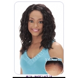 BOGO: NEW BORN FREE Synthetic Magic Lace front Wig: ML24