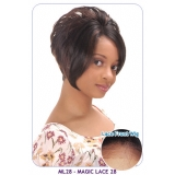 NEW BORN FREE Synthetic Magic Lace front Wig: ML28