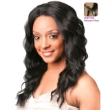 NEW BORN FREE Synthetic Magic Lace front Wig: ML49 (Hand-tied)