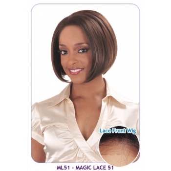 BOGO: NEW BORN FREE Synthetic Magic Lace front Wig: ML51