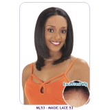NEW BORN FREE Synthetic Magic Lace front Wig: ML53