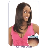 NEW BORN FREE Synthetic Magic Lace front Wig: ML54