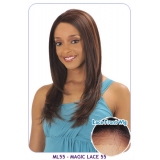 NEW BORN FREE Synthetic Magic Lace front Wig: ML55