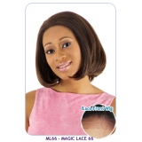 BOGO: NEW BORN FREE Synthetic Magic Lace front Wig: ML66