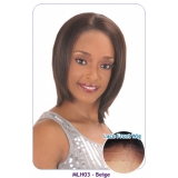NEW BORN FREE 100% Human Magic Lace front Wig: MLH03 BAIGE