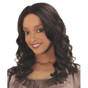 -NEW BORN FREE 100% Human Magic Lace front Wig: MLH08 ORCHID