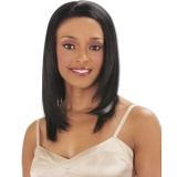 -NEW BORN FREE 100% Human Magic Lace front Wig: MLH09 PINK