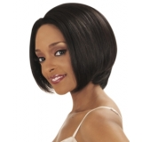 NEW BORN FREE 100% Human Hair Magic Lace front Wig: SHARON