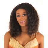 -NEW BORN FREE 100% Human Magic Lace front Wig: MLH13