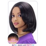 NEW BORN FREE Synthetic Magic Lace front Wig: MLP02