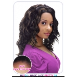 NEW BORN FREE Synthetic Magic Lace front Wig: MLP04