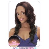 NEW BORN FREE Synthetic Magic Lace front Wig: MLP06