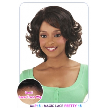 NEW BORN FREE Synthetic Magic Lace front Wig: MLP18
