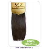 NEW BORN FREE European Silky Straight Weaving (100% Human) 10 inch