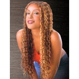 100% Human Hair, Black Diamond Weaving ITALIAN CURLY 12 inch
