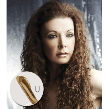Bohyme Fusion 100% Remi Human Hair , FRENCH REFINED WAVE 18inch (U-Tip)