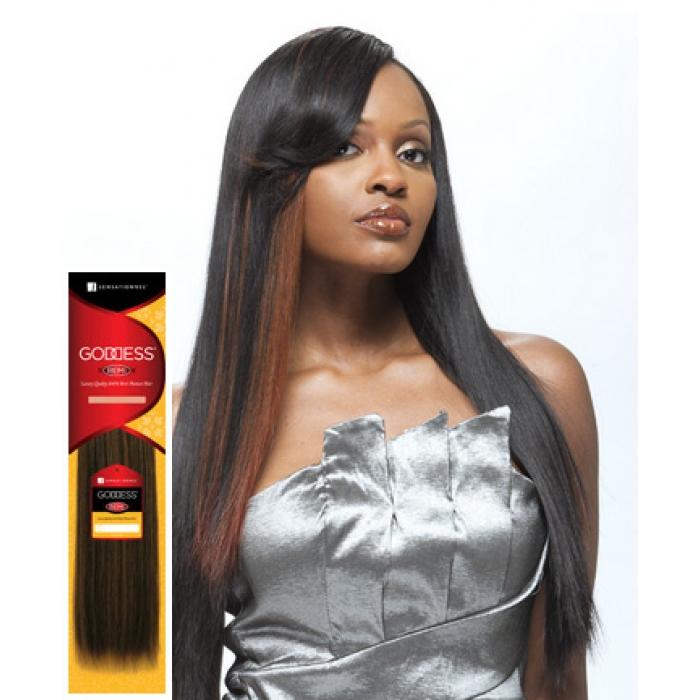 Sensationnel Goddess Remi Silky Weave 18 Inch