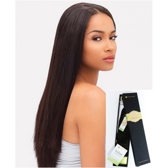 Sensationnel Goddess Indian Remi Yaki Straight 18 Bare N Natural