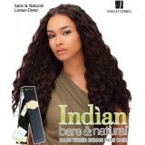 Sensationnel Indian Bare-Natural Loose Deep 14 - Indian Hair Weave Extensions