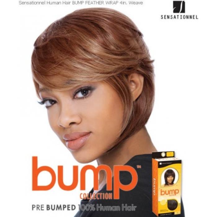 Sensationnel Bump Feather Wrap 6 Human Hair Weave Extensions