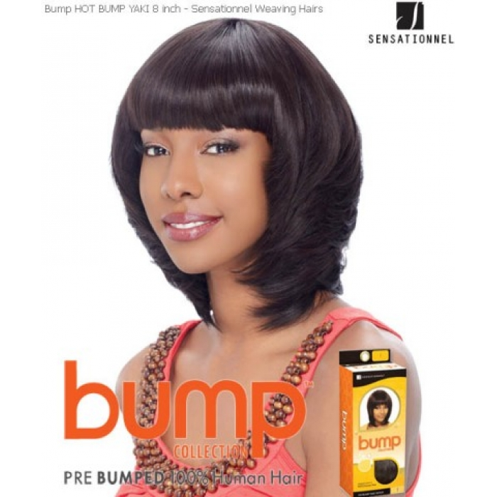 Sensationnel Bump Hot Bump Yaki 8 Human Hair Weave Extensions