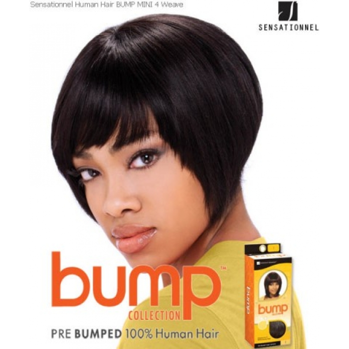 Sensationnel Bump Mini 4 Human Hair Weave Extensions