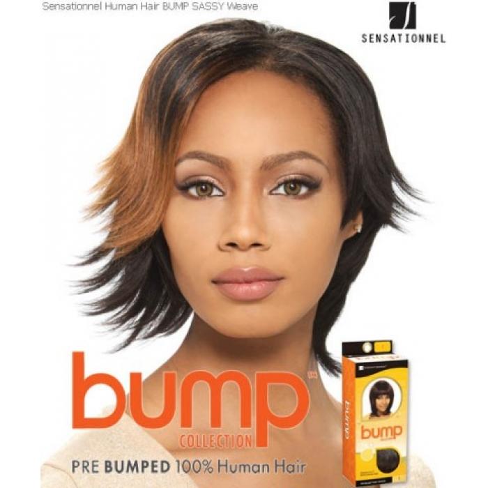 Sensationnel Bump Sassy 6 Human Hair Weave Extensions