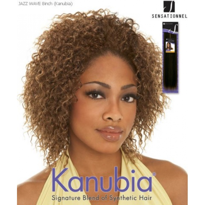 Sensationnel Kanubia Jazz Wave Synthetic Weave Extensions