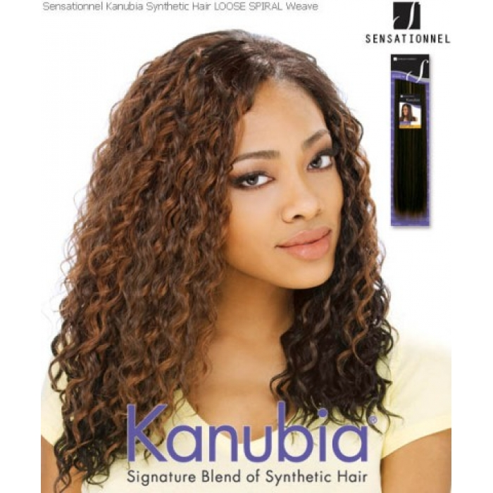 Sensationnel Kanubia Loose Spiral Synthetic Weave Extensions