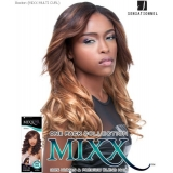 Sensationnel Mixx Multi Curl Long BOSTON - Human Blend Weave Extensions
