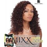 Sensationnel Mixx Multi Four DOUBLE SPIRAL - Human Blend Weave Extensions