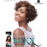 Sensationnel Mixx Multi Curl Short FANCY SHORT - Human Blend Weave Extensions