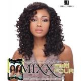 Sensationnel Mixx Multi Four FREE SPIRAL - Human Blend Weave Extensions