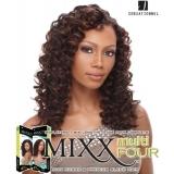 Sensationnel Mixx Multi Four FRENCH DEEP - Human Blend Weave Extensions