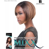 Sensationnel Mixx Multi Curl Short GLOSSY SHORT - Human Blend Weave Extensions