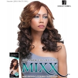 Sensationnel Mixx Multi Curl Long HOUSTON - Human Blend Weave Extensions