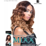 Sensationnel Mixx Multi Curl Long LAS VEGAS - Human Blend Weave Extensions