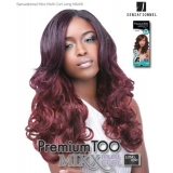 Sensationnel Mixx Multi Curl Long MIAMI - Human Blend Weave Extensions