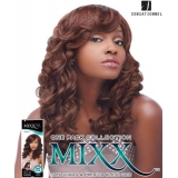 Sensationnel Mixx Multi Curl Long NEW YORK - Human Blend Weave Extensions