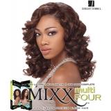 Sensationnel Mixx Multi Four ROMANTIC CURL - Human Blend Weave Extensions