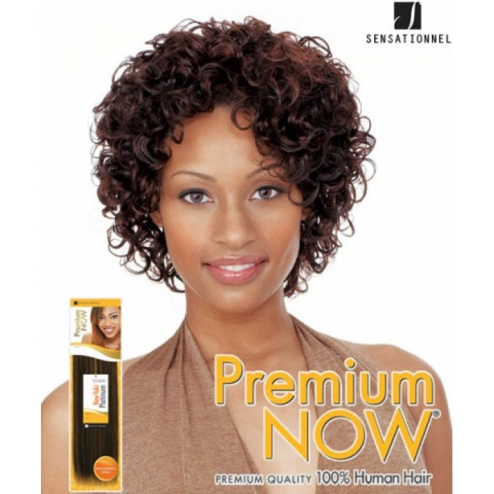 Sensationnel Premium Now Mint Curl 8 Human Hair Weave Extensions