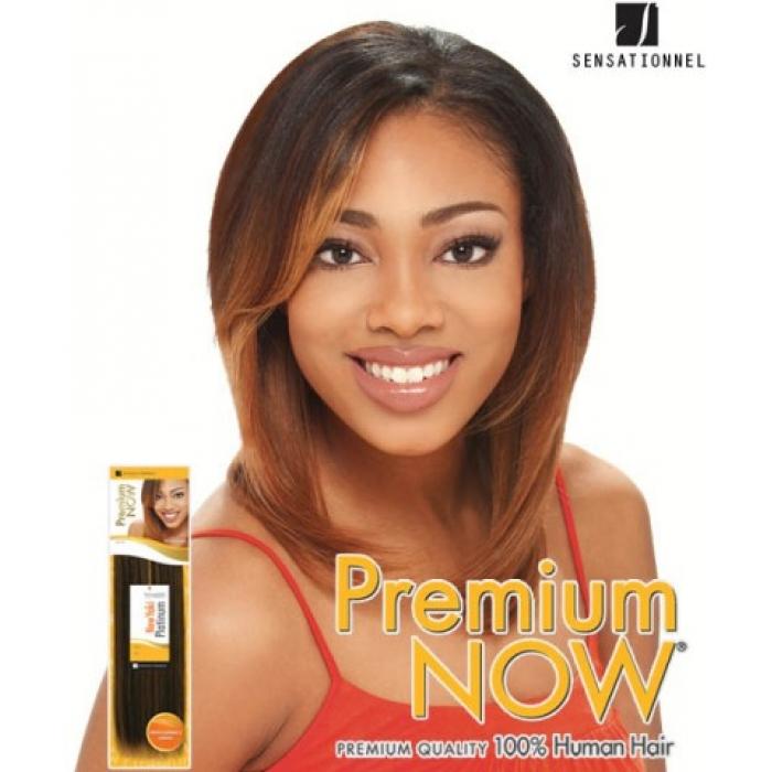 Sensationnel Premium Now Premium Yaki 12 Human Hair Weave Extensions