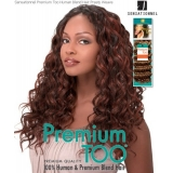Sensationnel Premium Too PRETTY 18 - Human Blend Weave Extensions