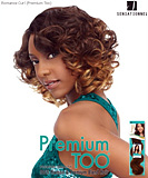 Sensationnel Premium Too Shorty ROMANCE CURL - Human Blend Weave Extensions