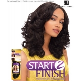 Sensationnel Start 2 Finish CLASSY CURL 14 - Human Hair Weave Extensions