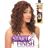 Sensationnel Start 2 Finish DEEP SPIRAL 16 - Human Hair Weave Extensions